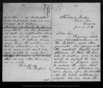 Letter from P. C. Renfrew to [John Muir], 1879 Jan 3.