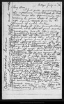 Letter from Joanna [Muir] to Mary [Muir], 1874 Jul 10.