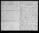 Letter from A[sa] Gray to John Muir, 1873 Apr 9.