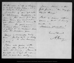 Letter from A[sa] Gray to John Muir, 1873 Apr 9. by A[sa] Gray
