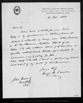 Letter from George M. Dawson to John Muir, 1888 Feb 21.