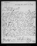 Letter from Walter Brown to John Muir, 1886 Oct 11.