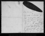 Letter from May F. Benton to John Muir, [ca. 1885] Oct 31.