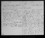 Letter from Mother [Ann Gilrye Muir] to [John Muir], 1871 Nov 9.