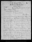 Letter from W. E. Dennison to John Muir, 1885 Jul 17.