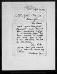 Letter from Ed. S[cribner's] M[onthly] [Robert Underwood Johnson] to John Muir, 1878 Apr 24.