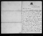 Letter from Benj [amin] P. Avery to John Muir, 1874 Mar 4.