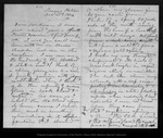 Letter from [John Muir] to [Jeanne C.] Carr, 1874 Dec 21.