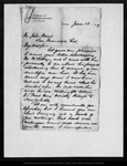 Letter from John Mc Landburgh to John Muir, 1879 Jun 13.