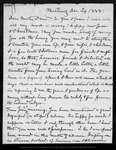 Letter from [John Muir] to David [Gilrye Muir], 1888 Dec 24.