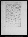 Letter from John Muir to David [M.] G[alloway], [1871] Sep 8.