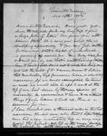 Letter from John Muir to Sarah [Muir Galloway], 1873 Nov 14.
