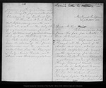 Letter from [Louie Muir] to [Ann Gilrye Muir], 1881 Sep 29.