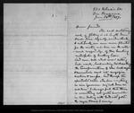 Letter from John Muir to [Strentzel Family], 1879 Jan 28.