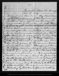 Letter from John Muir to Mrs. [Jeanne C.] Carr, 1869 Oct 3.