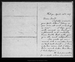 Letter from [Ann G. Muir] to Dan[iel H. Muir], 1887 Apr 28. by [Ann G. Muir]