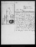Letter from Joanna [Muir] to Mary [Muir], 1874 Apr 18.