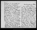 Letter from [John Muir] to Mary [Muir Hand], 1886 Dec 5.