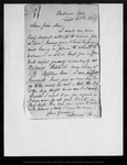 Letter from Jeanne [C.] Carr to John Muir, 1869 Sep 28.