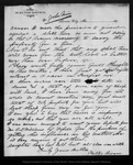 Letter from Walter Brown to John Muir, 1885 Dec 16.