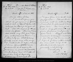 Letter from D[aniel] H. Muir to John Muir, 1886 Oct 13.