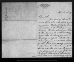 Letter from [Charles ?] Scribner to John Muir, 1879 Mar 11.