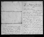 Letter from E[zra] S. [Carr] and Jeanne [C.] Carr to John Muir, [1869] Oct .