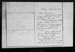 Letter from [Ann G. Muir] to Daniel [H. Muir], 1886 Sep 22.