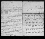Letter from Mary [Muir] to John Muir, 1869 Apr 4.