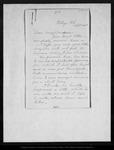 Letter from [Ann Gilrye Muir] to Louie [Muir], [1885] Sep 30. by [Ann Gilrye Muir]
