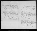 Letter from [Ann Gilrye Muir] to Annie [L. Muir], 1886 Jan 21.