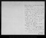 Letter from May F. B[enton] to John Muir, [1886?] Oct 21.