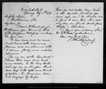 Letter from John Mc Landburgh to John Muir, 1878 Feb 11.