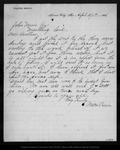 Letter from Walter Brown to John Muir, 1886 Apr 27. by Walter Brown