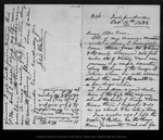 Letter from John Muir to [Jeanne C.] Carr, 1873 Oct 16.
