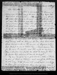 Letter from J[eanne] C. C[arr] to John Muir, 1869 Mar 28.