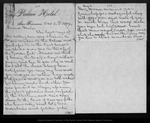 Letter from [Ludlow] & Abby H. Patton to John Muir, 1879 Oct 5.