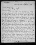 Letter from Walter Brown to John Muir, 1886 Aug 5.