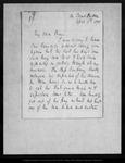 Letter from B. Buchanan Hepburn to John Muir, 1878 Apr 6.