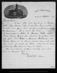 Letter from Chas. H. Allen to John Muir, 1877 Sep 5. by Chas H. Allen