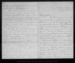 Letter from Louie [Strentzel Muir] to John Muir, 1885 Aug 23.