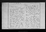Letter from [Ann G. Muir] to Dan[iel H. Muir], 1871 Nov [2]. by [Ann G. Muir]