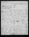 Letter from Walter Brown to John Muir, 1886 Jun 24.
