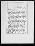 Letter from Walter Brown to Anna [Annie L. Muir], 1881 Nov 6.