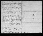 Letter from John Muir to [Jeanne C.] Carr, 1874 Dec 9.