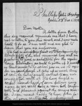Letter from Henry S. Butler to [Mrs. Butler], 1872 Dec 5.