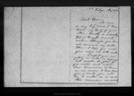 Letter from [Ann G. Muir] to Dan[iel H. Muir], 1872 May 30.