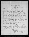 Letter from Rufus B. Kellogg to [John Muir], 1873 May 24.
