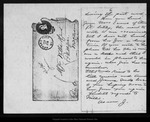 Letter from J[oanna Muir Brown] to Sister Mary [Muir Hand], 1885 Feb 22.