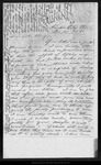 Letter from Joanna [Muir Brown] to Sister Mary [Muir Hand], 1885 Nov 15.